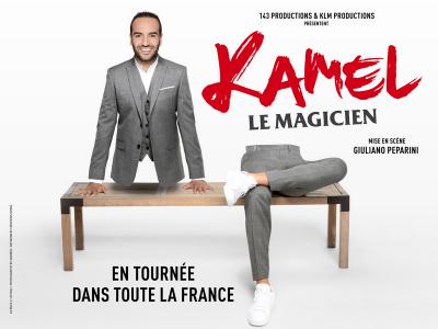 Kamel Le Magicien est en tournée dans toute la France