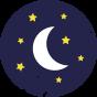 icone bonne nuit